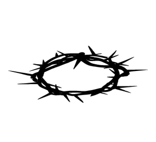 free cross and crown clipart - photo #47