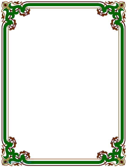 Simple Page Border Designs - ClipArt Best