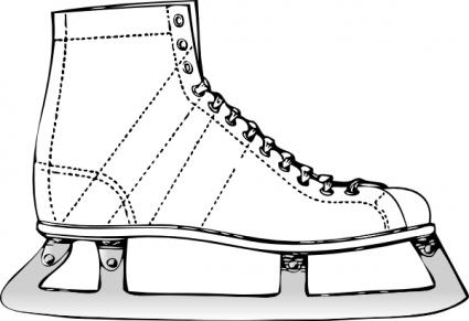 Ice Skates Clip Art Ice Skate Clip Art Download