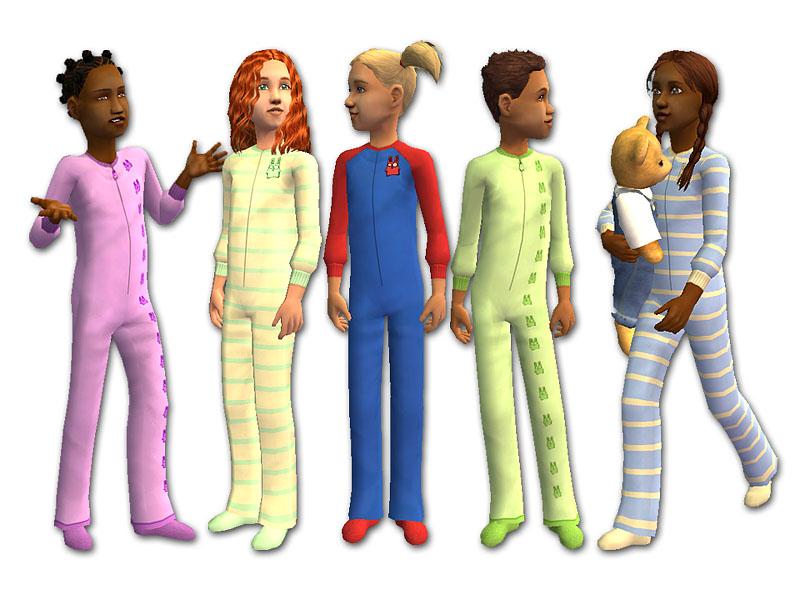 Kids In Pajamas - ClipArt Best
