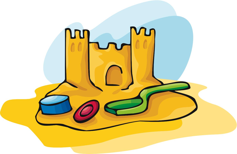 Cartoon Sand Castle - ClipArt Best