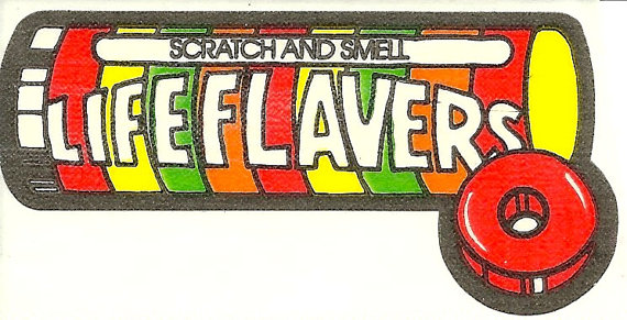 Vintage 80's Mello Smellos LIFESAVERS Candy by Stuckonstickers