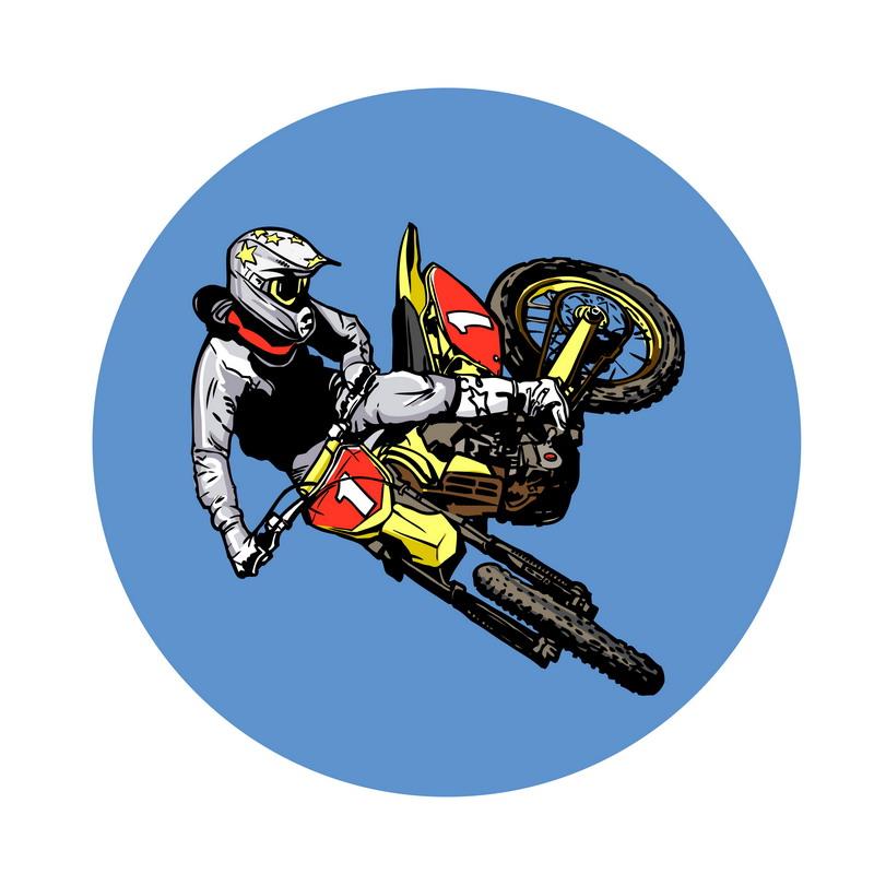 ... motocross stock 94 silhouette silhouette 1 dirt bike clipart