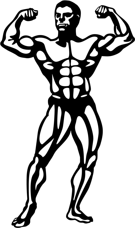 Body Building Clip Art - ClipArt Best