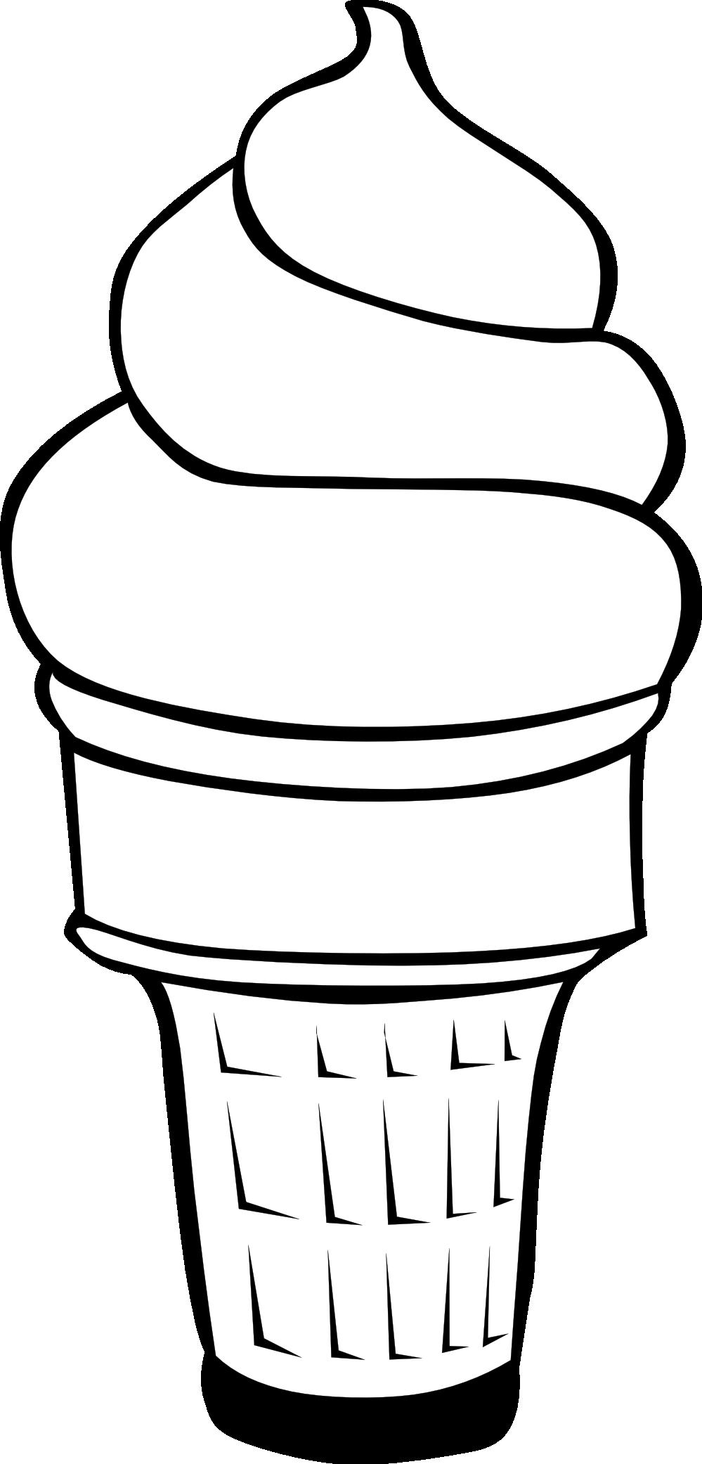 Clip Art Ice Cream Con...