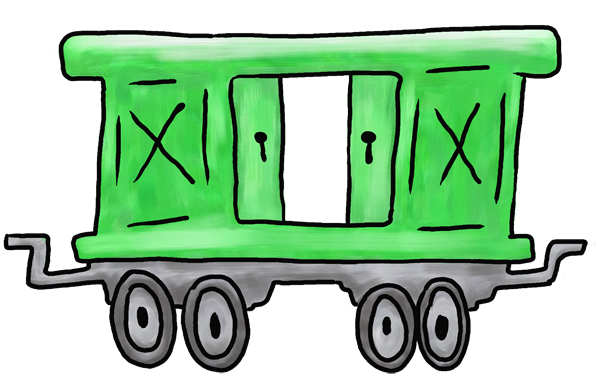 Simple Animated Caboose Clipart Best
