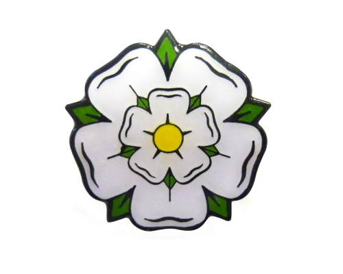 yorkshire rose | Yorkshire Rose Pinbadge | INK | Pinterest