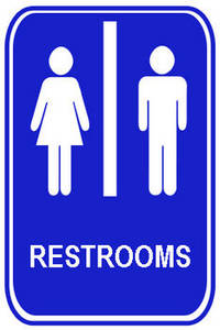 Bathroom Sign Clipart