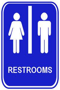 School Bathroom Sign The Interior Designs