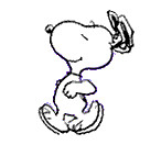 snoopy dance gif image clipart best