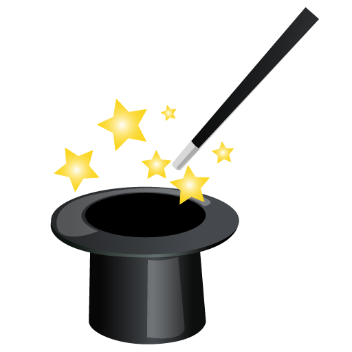 cartoon magic hat clipart best harry potter magic wand clipart Magic Wand Clip Art Black and White