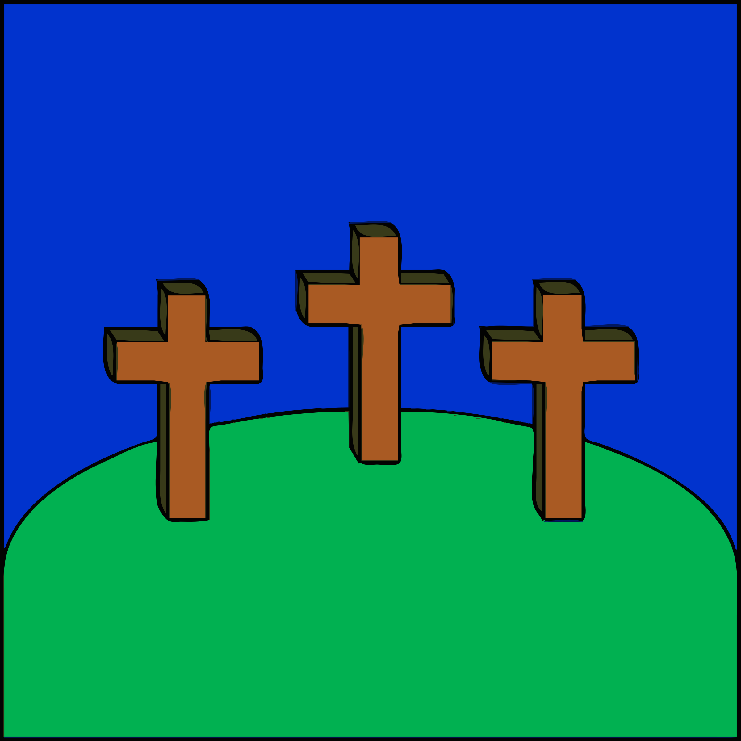 3 Crosses On A Hill - ClipArt Best