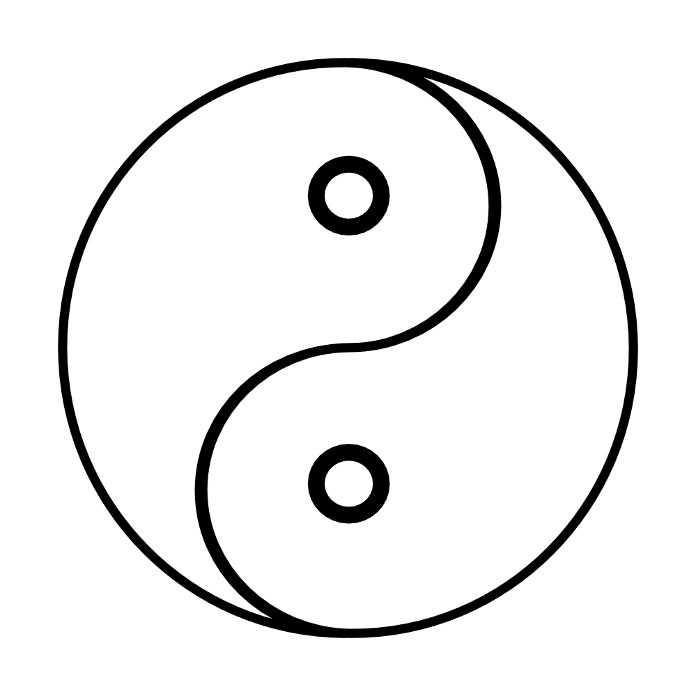 Free Coloring Pages Of Ying Yang