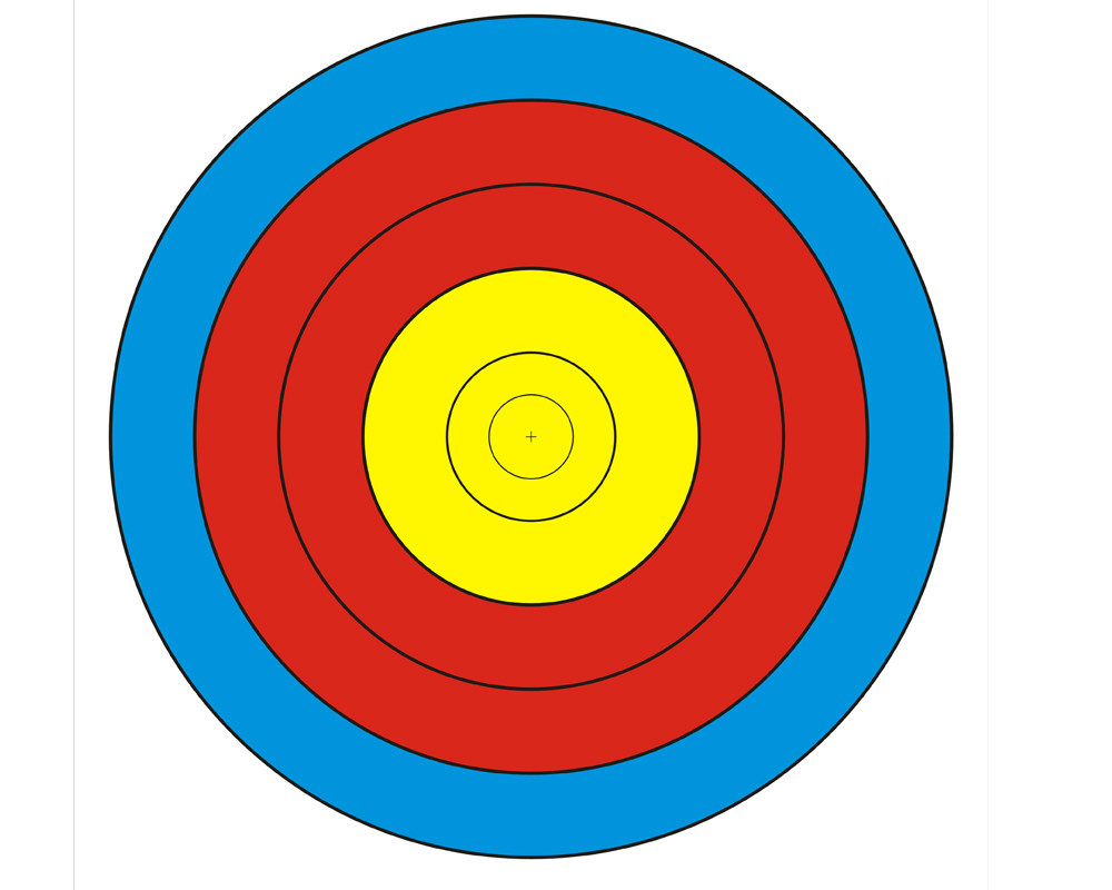 bow and arrow target clipart best