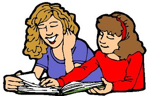 Student helping another student clipart - ClipartFox