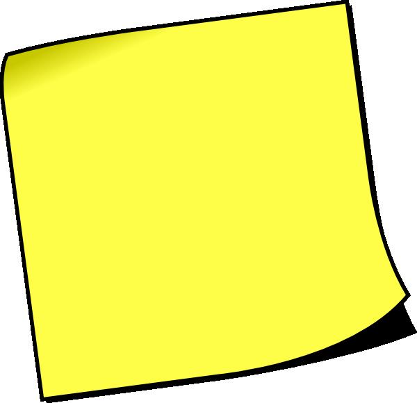 Blank Sticky Paper Blank White Paper · Blank Post