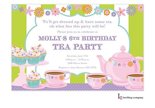 clipart tea party invitation - photo #13