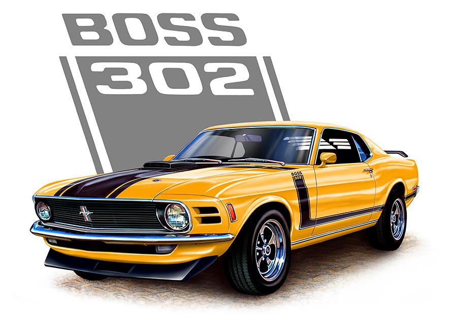 cartoon old mustangs jpg 900x646 fastback mustang muscle car cartoon - Old Mustang Muscle Cars
