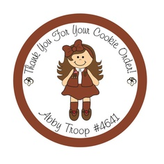 Brownie clipart girl scouts
