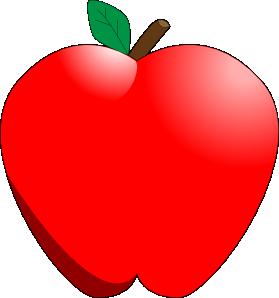 Cartoon Apple clip art - vector clip art online, royalty free ...