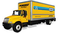 Penske. This rental truck company offers hour roadside assistance, flexible reservation and cancellation policies, convenient rental locations, half-day rentals, and free, unlimited miles on one-way rentals.