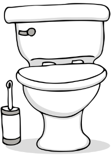Are Clip art no peeing on toilet seat think, you