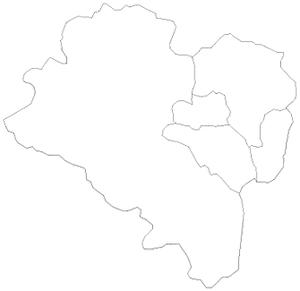 Blank map of northeast