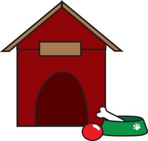 dog house art photo clipart best