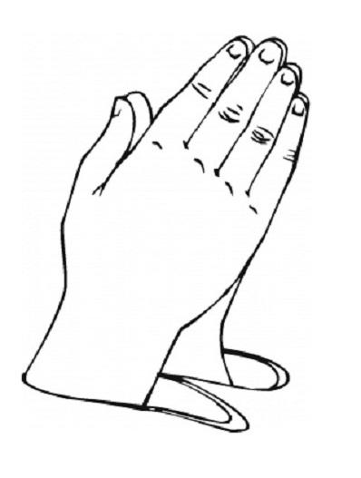 Printable Praying Hands