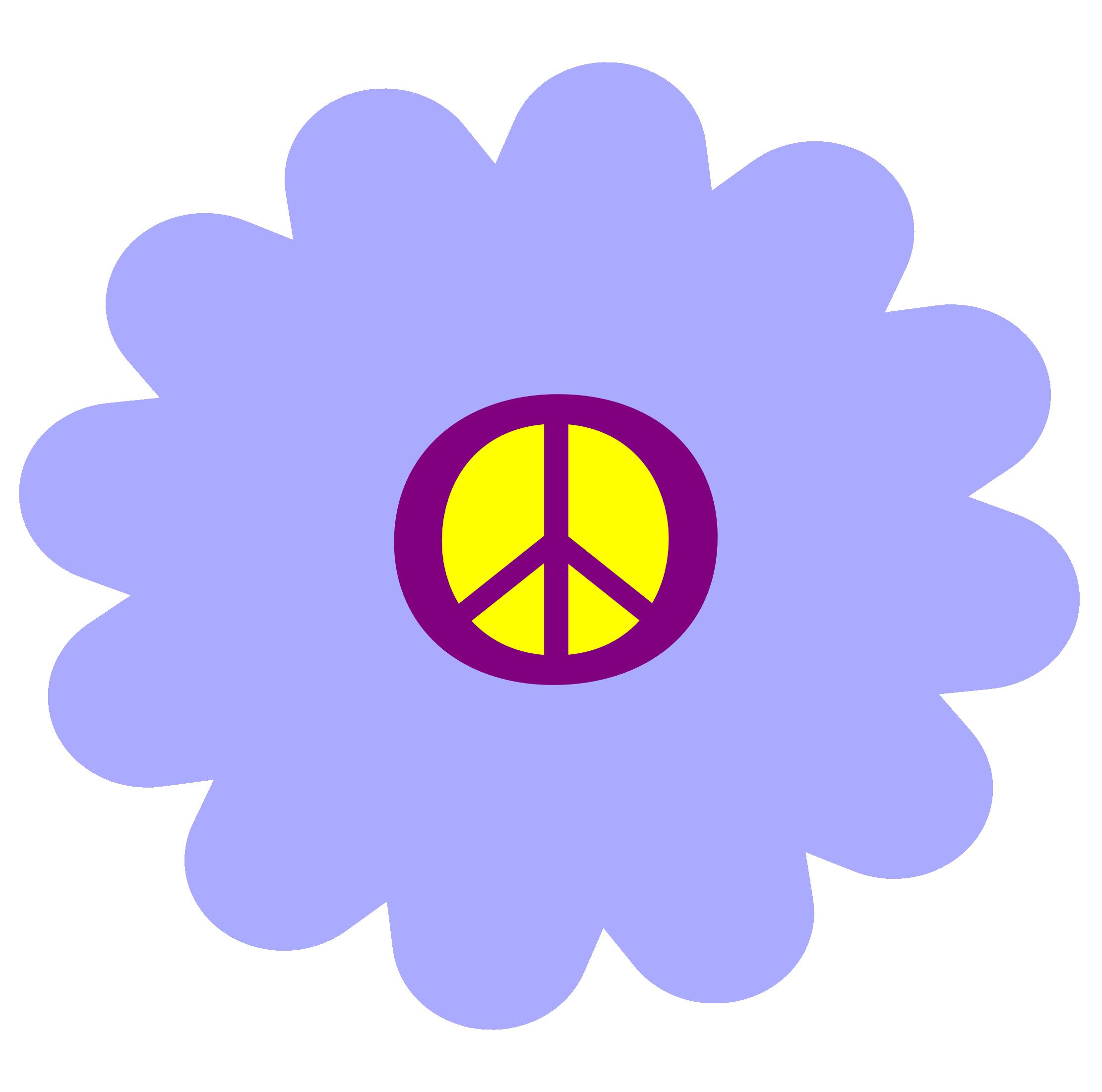 Hippie Flower Clip Art - ClipArt Best