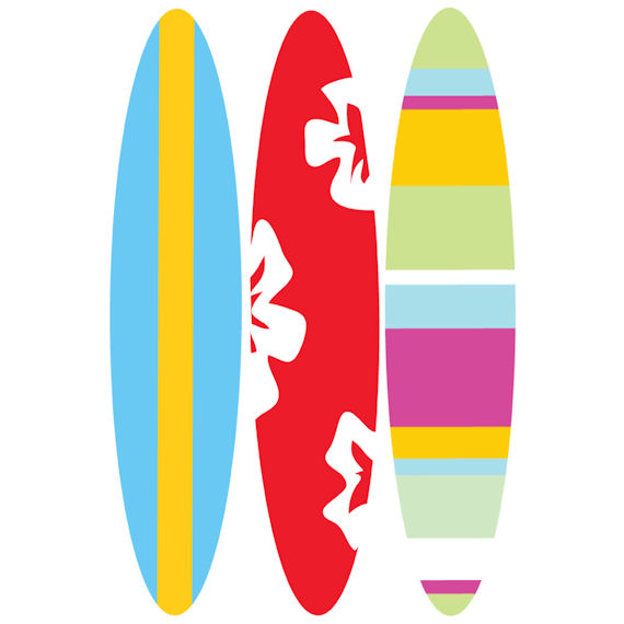 Surf Board Designs - ClipArt Best
