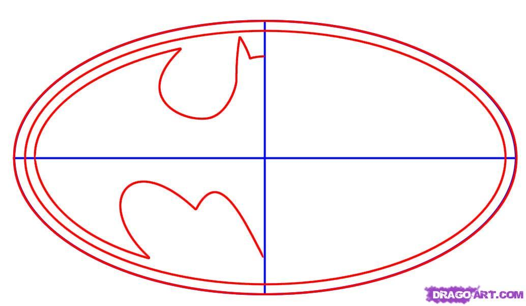 Batman Symbol Template Free