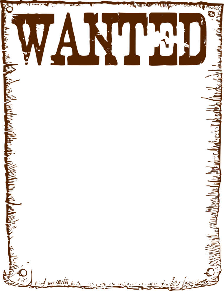 Wanted Poster Clipart Clipart - Free to use Clip Art Resource