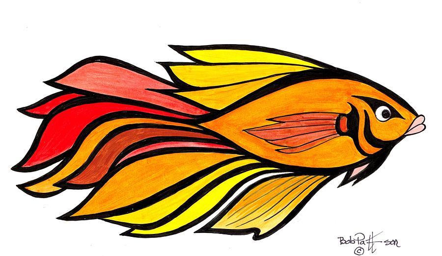 Tropical Fish Drawings