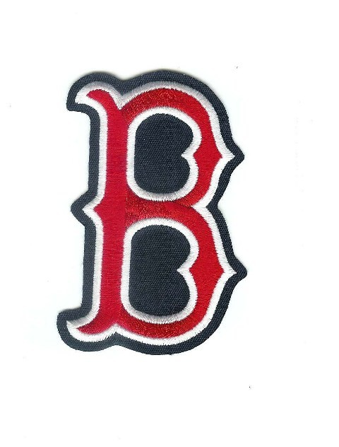 "Boston Red Sox ""B"" MLB Baseball Jersey Logo Patch - ClipArt Best ..."