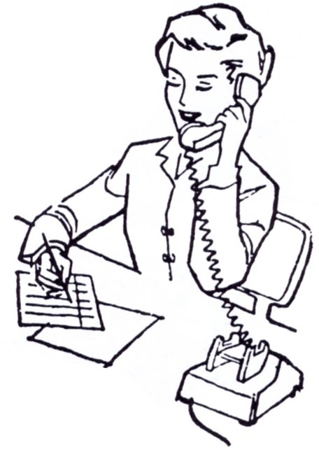 coloring pages of secretaries - photo#34