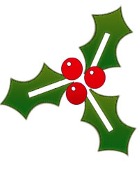Holly Clip Art Free - ClipArt Best