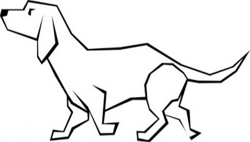 Art Simple Drawing Dog Simple Drawing Clip Art 5