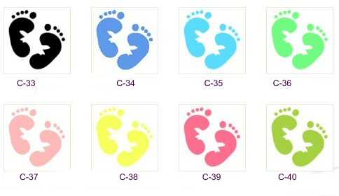 blue-baby footprints free clip art - Seivo ... - ClipArt ...