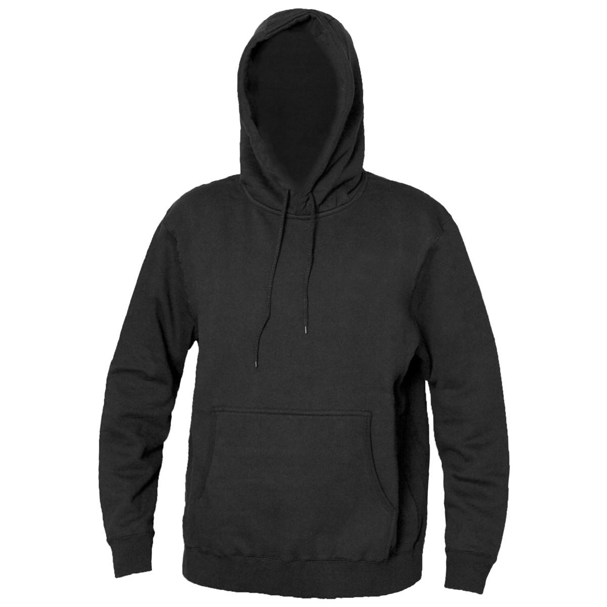 Blank Black Hoodie - ClipArt Best