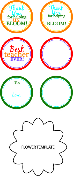 Free Printable Flower Templates - ClipArt Best