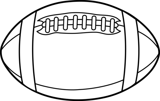 american football outline - photo #8