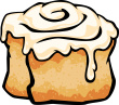 cinnamon rolls clipart best cinnamon roll clipart free Cinnamon Roll Drawing