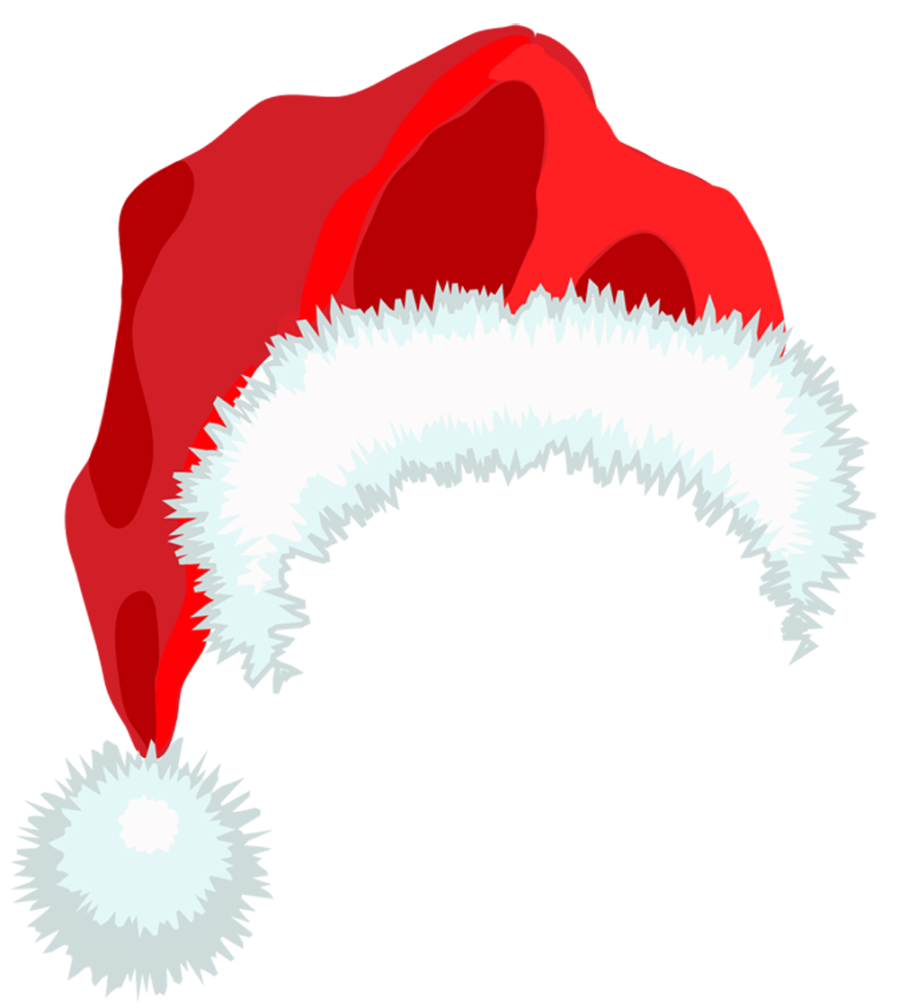 santa hat clipart with transparent background - photo #11