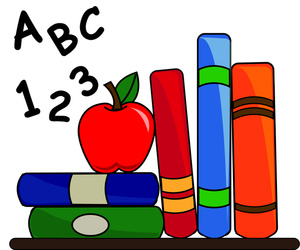 Stack Of Childrens Books Clip Art - Free Clipart ...