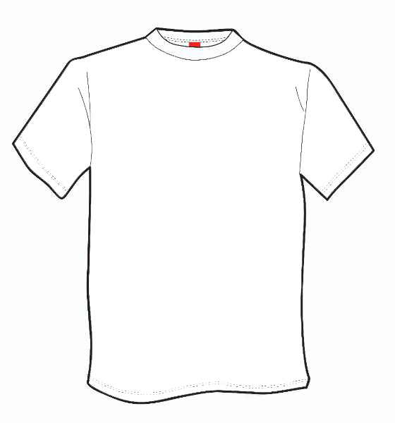 Free Coloring Pages Of T Shirt Outline