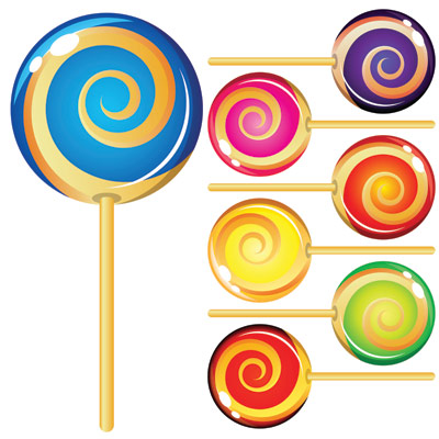 Lollipop sugar candy vector 3mb eps | Vector Art, Images and Graphics: www.clipartbest.com/candy-vector