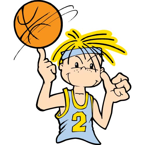 Kid Basketball Player Clipart   Clipart Panda - Free Clipart Images