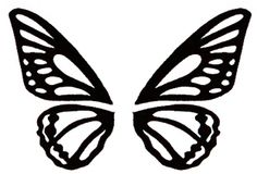 Butterfly Wing Template - ClipArt Best