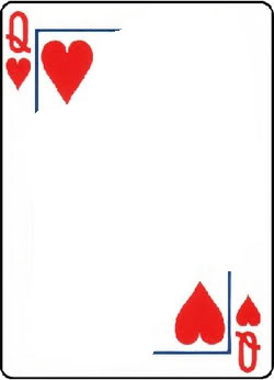 Queen Of Hearts Card Clipart Best